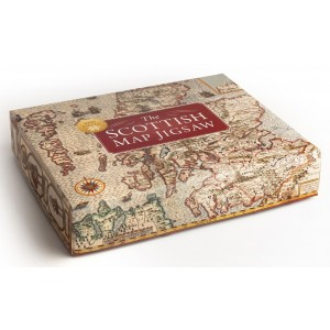 Scottish Map Jigsaw