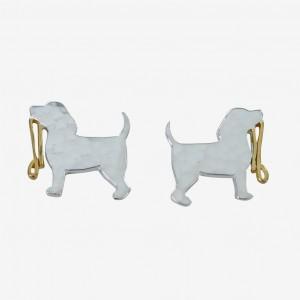 Reeves & Reeves Spot The Dog Stud Earrings
