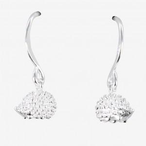 Reeves & Reeves Hedgehog Earrings Sterling Silver