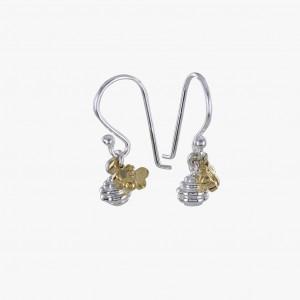 Reeves & Reeves Honey Pot Earrings Sterling Silver