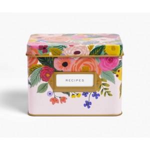 Rifle Paper Co. Juliet Rose Recipie Box