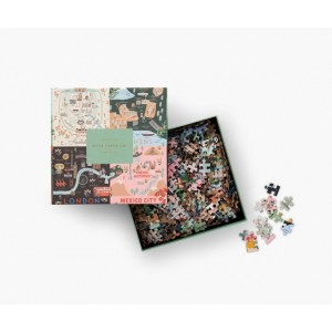 Rifle Paper Co. Maps Jigsaw Puzzle