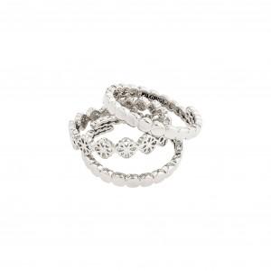 Pilgrim Cherished Ring Silver