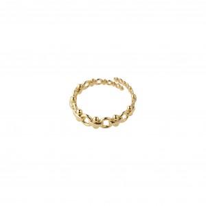 Pilgrim Nomad Ring Gold