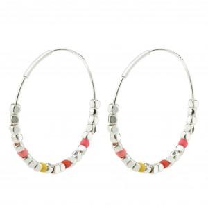 Pilgrim Romina Earrings Silver