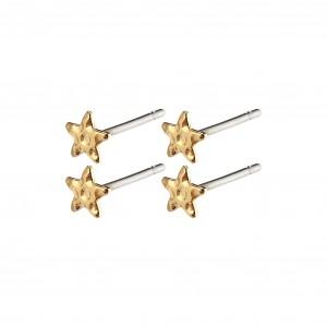 Pilgrim Regina Earrings Gold