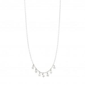 Pilgrim Regina Necklace Silver