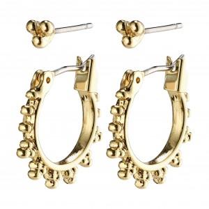 Pilgrim Kate Earrings Gold