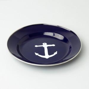 Atlantic Folk Enamel Plate Maritime