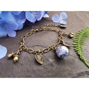 The Butterfly & Toadstool Hydrangea Bracelet