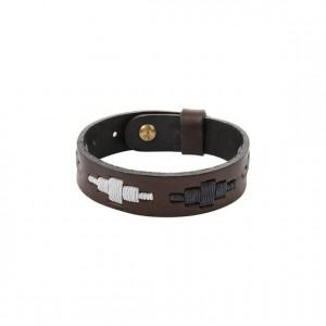 Pampeano Leather Bracelet Roca