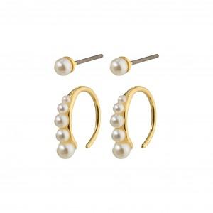 Pilgrim Native Beauty Earrings Gold