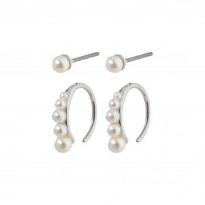 Pilgrim Native Beauty Earrings Silver