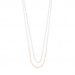 Pilgrim Native Beauty Necklace Silver