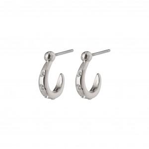 Pilgrim Legacy Earrings Silver