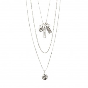 Pilgrim Legacy Necklace Silver