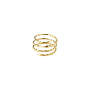 Pilgrim Paula Ring Gold