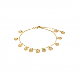 Pilgrim Carol Bracelet Gold
