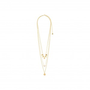 Pilgrim Carol Necklace Gold