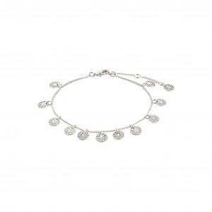 Pilgrim Carol Bracelet Silver