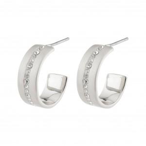 Pilgrim Casey Earrings Silver