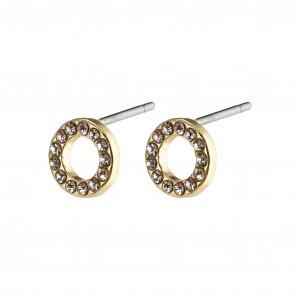 Pilgrim Tessa Earrings Gold