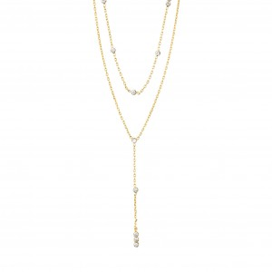 Pilgrim Kamari Necklace Gold
