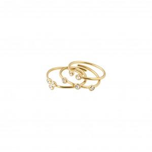 Pilgrim Kamari Ring Gold