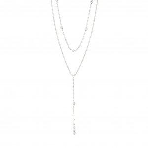 Pilgrim Kamari Necklace Silver