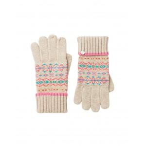 Joules Christina Gloves Fairisle
