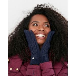 Joules Elena Gloves Navy