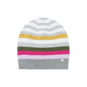Joules Zelda Stripe Hat Grey Stripe