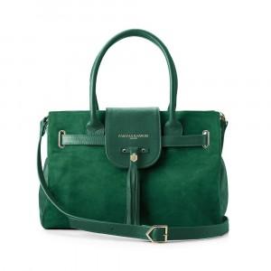 Fairfax & Favor The Windsor Handbag Emerald