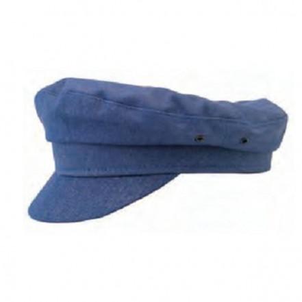 Cotton Denim Cap