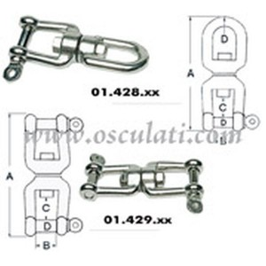 Swivel Stainless Steel