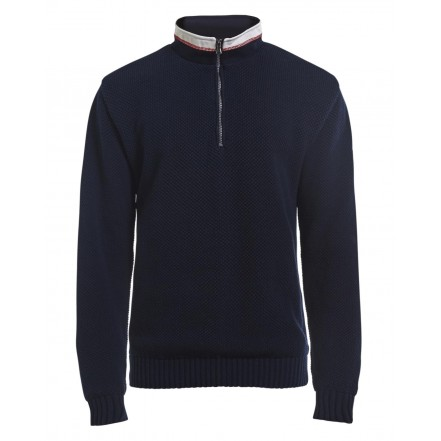 Holebrook Classic Windproof Sweater Navy Blue
