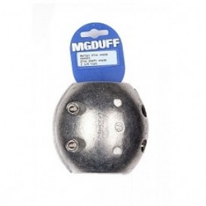 MG Duff Zinc Shaft Ball Anode