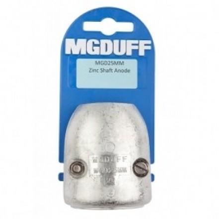 MG Duff Zinc Shaft D Anode