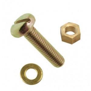 Holt Marine Machine Screw Pan Head Brass