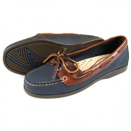 Orca Bay Schooner Ladies Deck Shoe Navy