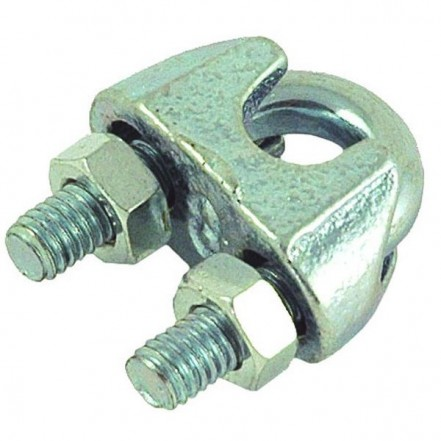Pro-Boat Wire Rope Grip  Galvanised Steel