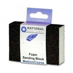 National Abrasives Foam Sanding Block