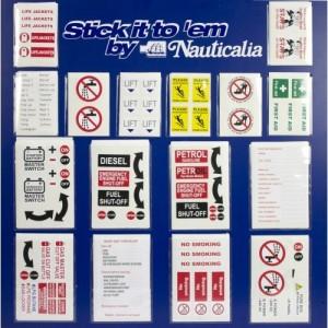 Nauticalia Boat Stickers