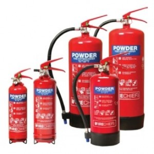 Waveline Fire Extinguishers Dry Powder