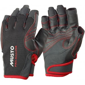 Musto Performance Gloves Short Finger Black