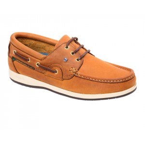 Dubarry Commodore Deck Shoe Whiskey