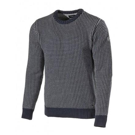 Holebrook Eino Crew Neck Sweater Navy/White