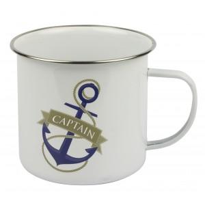 Nauticalia Tin mug