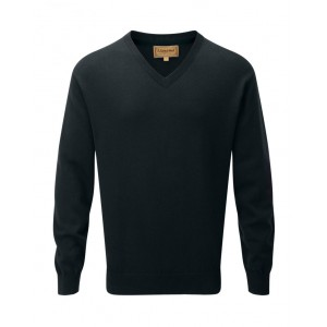 Schoffel Cashmere Cotton V Neck Jumper