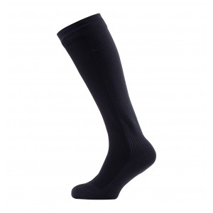 Sealskinz Mid weight, knee length waterproof sock perfect for a multitude of activities and conditions where additional coverage and an equal balance of warmth and breathability are required.